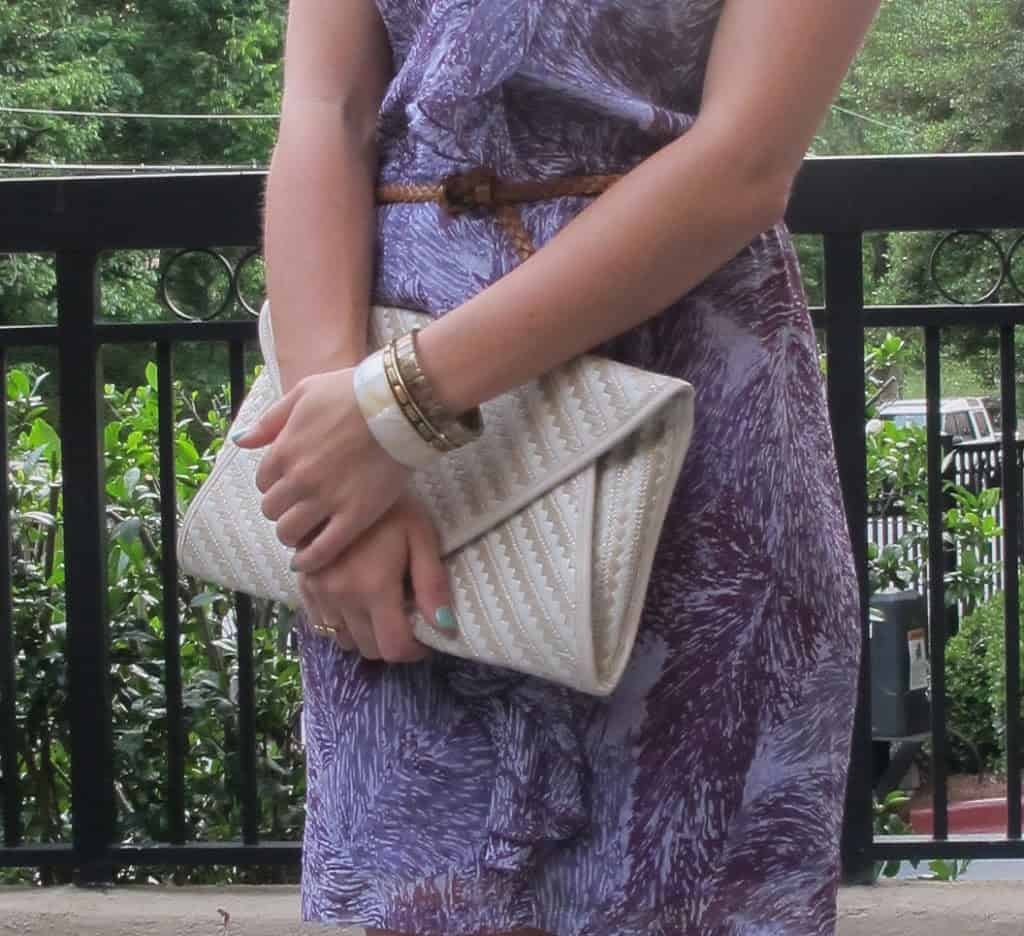 purple ruffle dress - My Style Vita