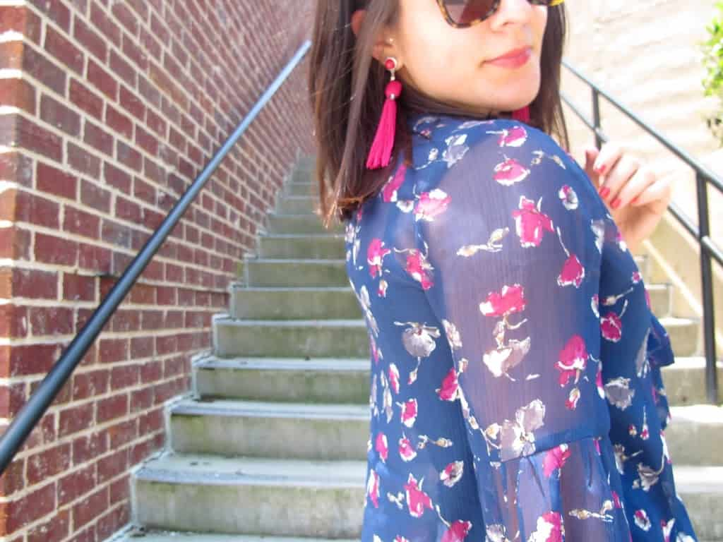 floral blouse - My Style Vita