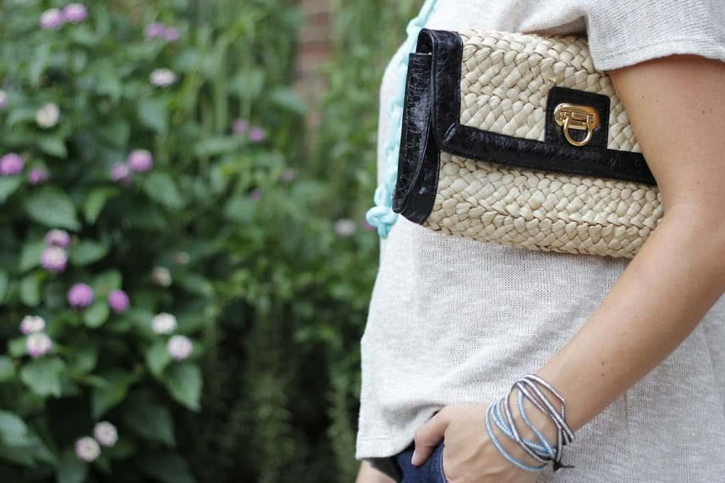 straw clutch for summer - My Style Vita