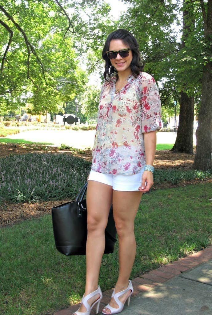 floral top - My Style Vita