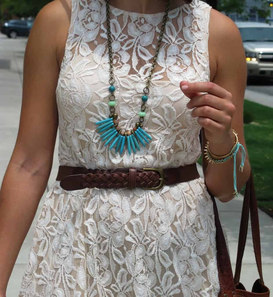 free people lace dress - My Style Vita