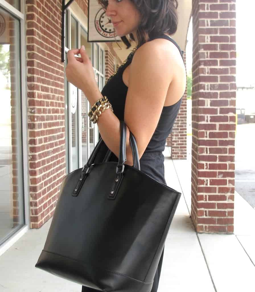 black maxi dress outfit - My Style Vita