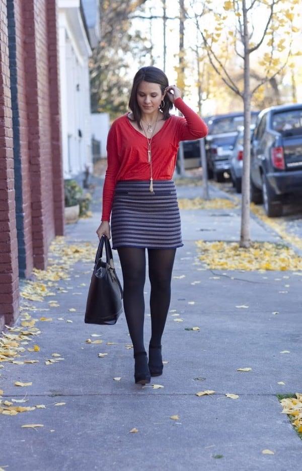 Club-Monaco-Skirt-Outfit-du-Jour-1