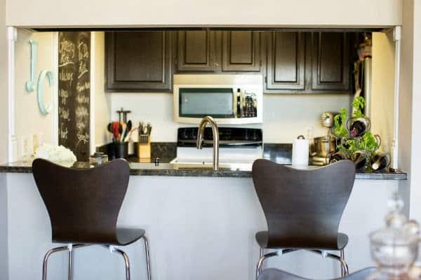 west elm bar stools, kitchen ideas