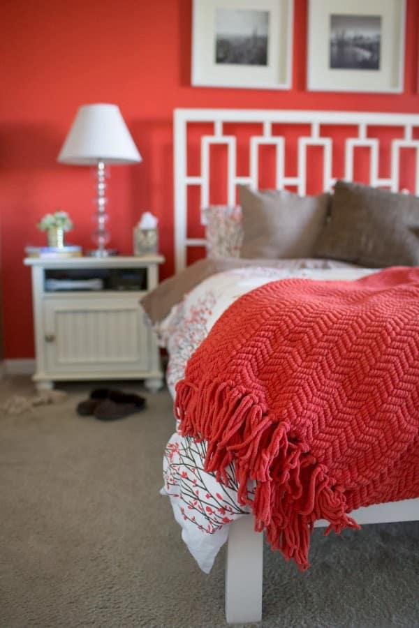 coral bedroom west elm