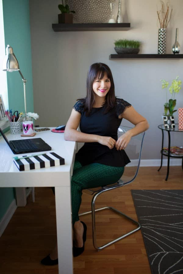 mint office, a fashion bloggers office
