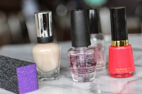 essentials for an at home manicure