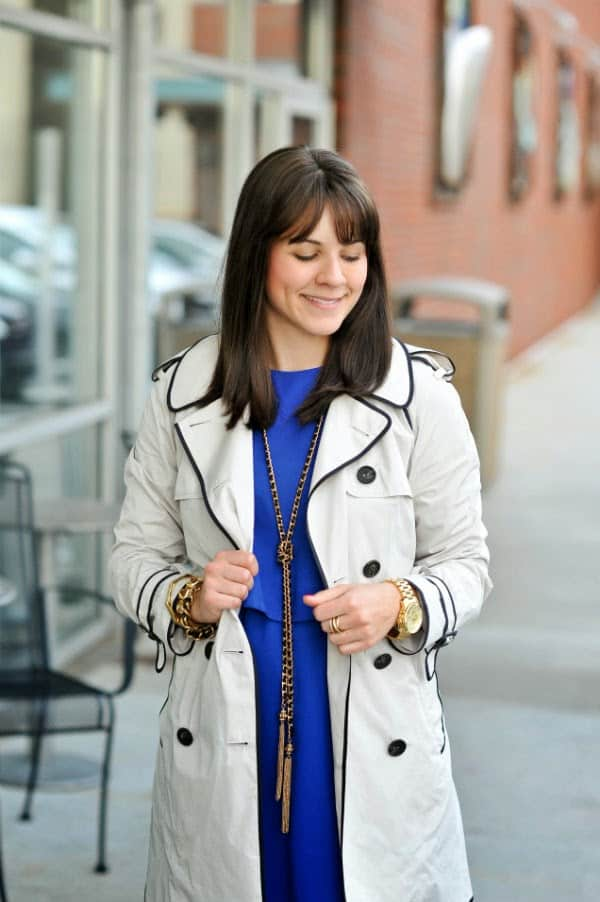 spring outfit ideas with blue