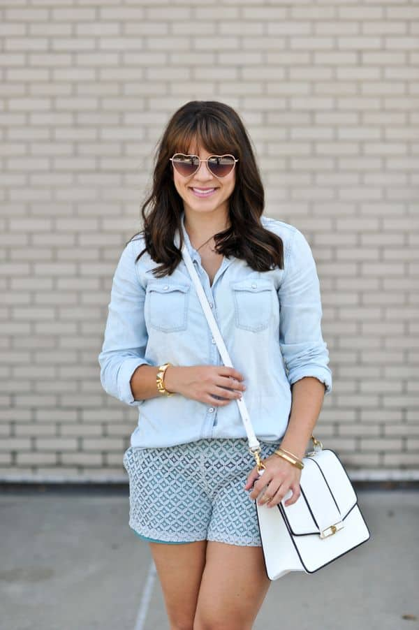 Chambray and Lace 2