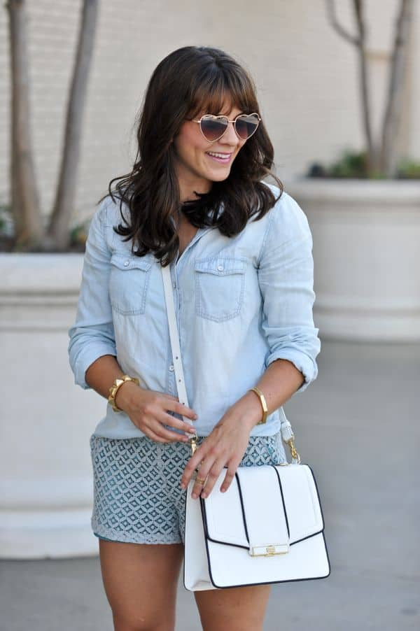 Chambray and Lace 5