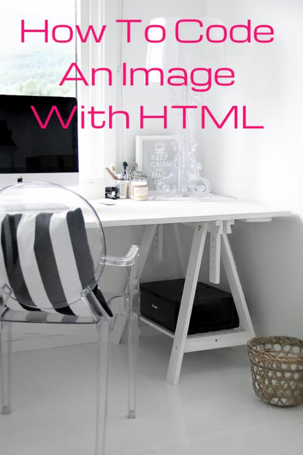 how to code an image with html and a link, how to make an image click through to a link