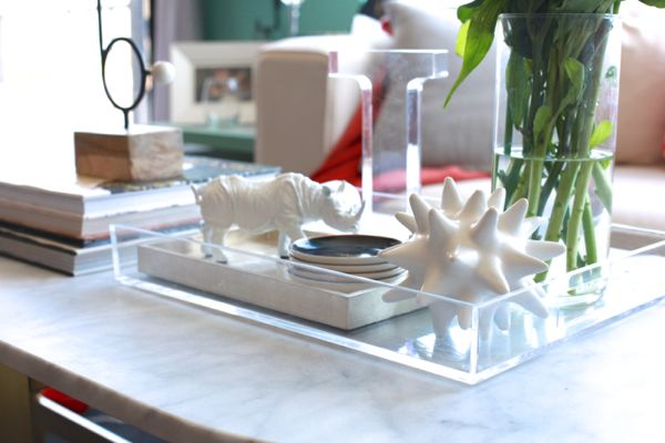 Oval Coffee Table Decor Glass