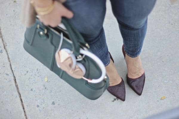 @solesociety Marlow Bag, Frends Rose Gold Headphones via @mystylevita