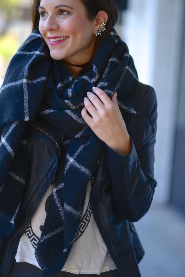 ZARA Blanket Scarf 2