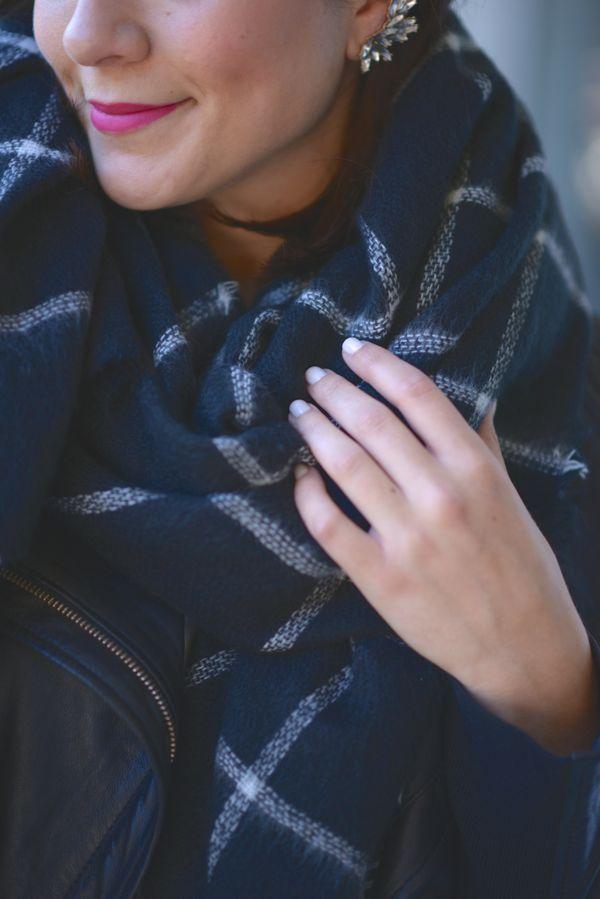 Zara Blanket Scarf 1