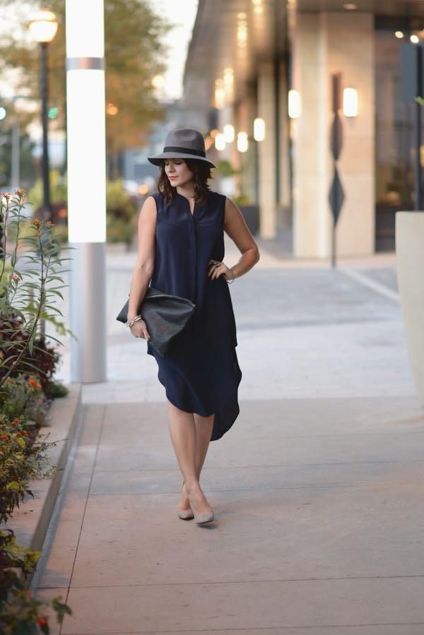 Calypso Silk Dress And Fedora 3
