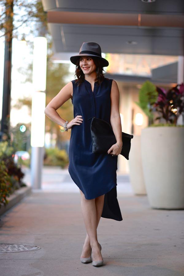 Calypso Silk Dress And Fedora 4