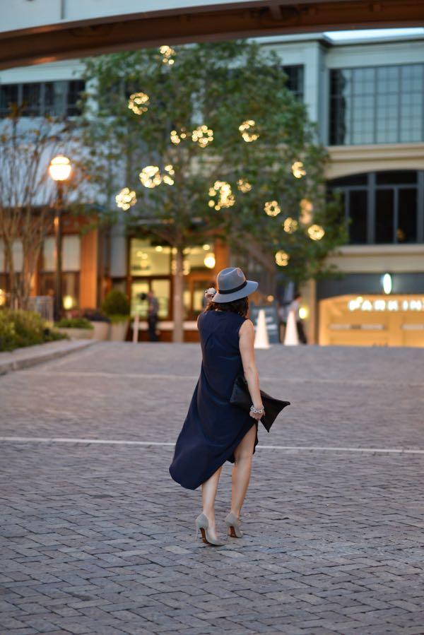 Calypso Silk Dress And Fedora 9