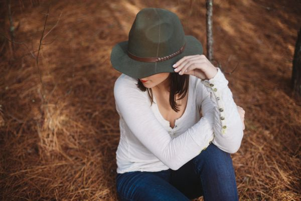 Fall hat and jeans  via @mystylevita
