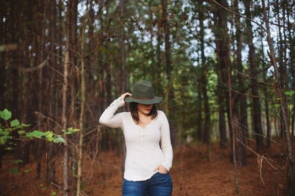 Rustic woods shoot