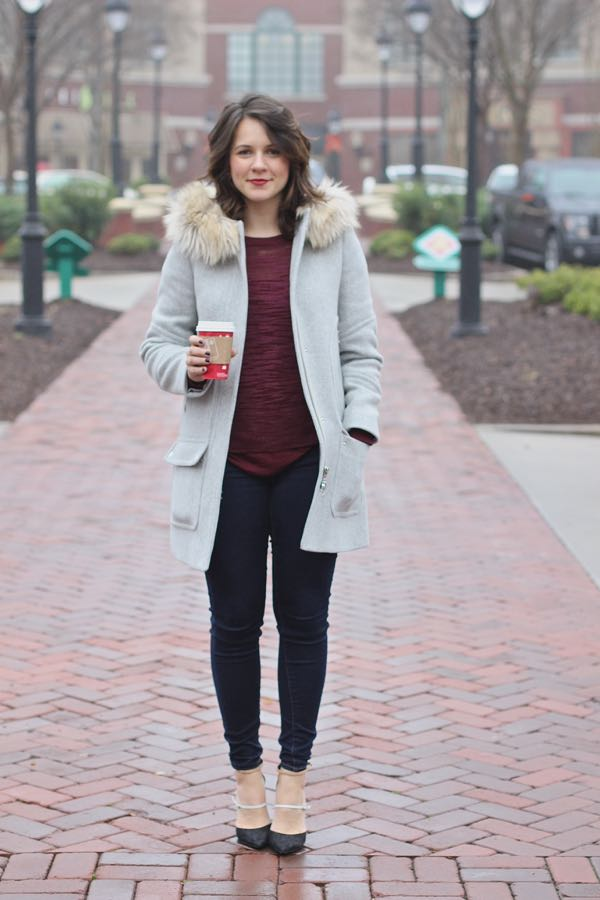 J. Crew Chateau Parka Styled By My Style Vita 8d5a5296ee68