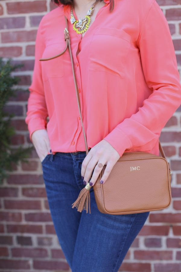 Spring Outfit Coral and stripes via @mystylevita 2