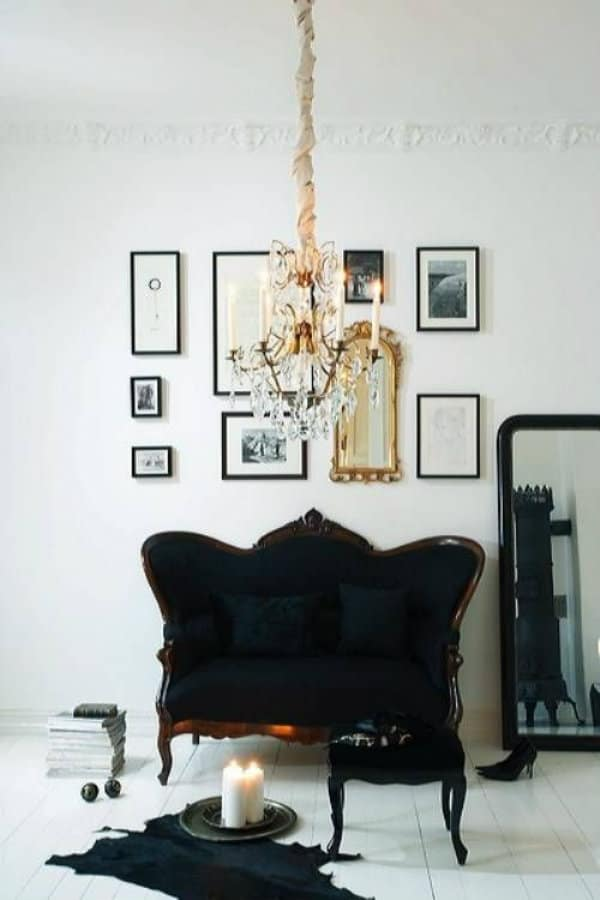Black White And Gold Living Room My Style Vita