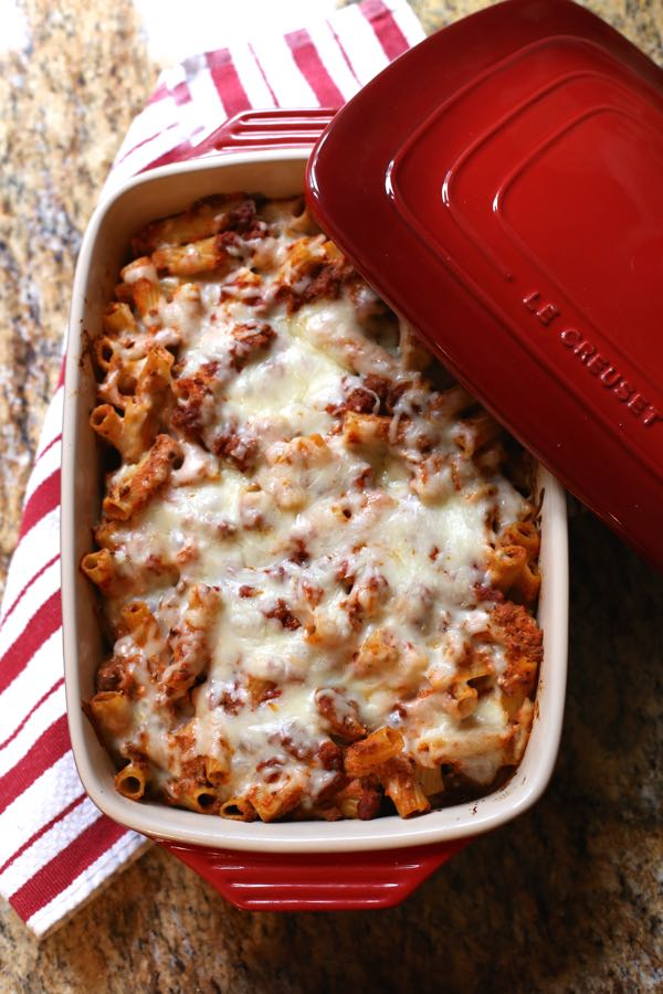 Baked Ziti Recipe via @Mystylevita