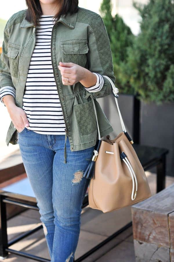 spring closet essentials, spring casual outfit via @mystylevita