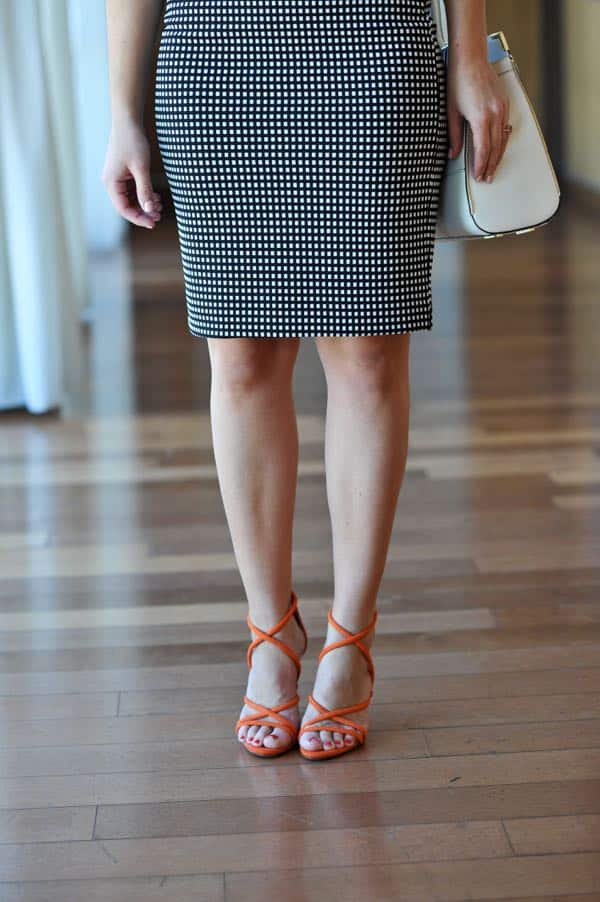 Express pencil skirt and schutz heels for spring via @mystylevita
