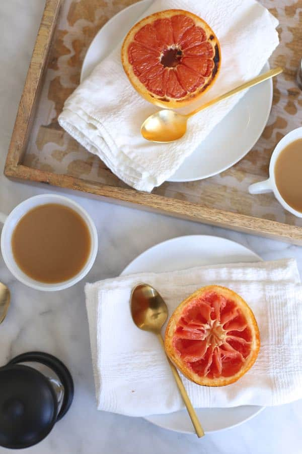 bruleed grapefruit for breakfast via @mystylevita