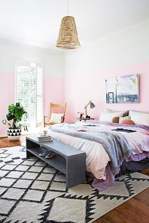 pink decor ideas from my style vita. Black Bedroom Furniture Sets. Home Design Ideas