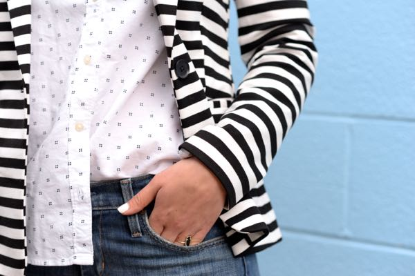 stripes on dots via @mystylevita