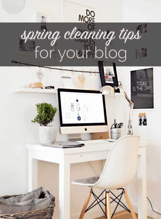 spring cleaning tips for your blog, how to update your blog for spring