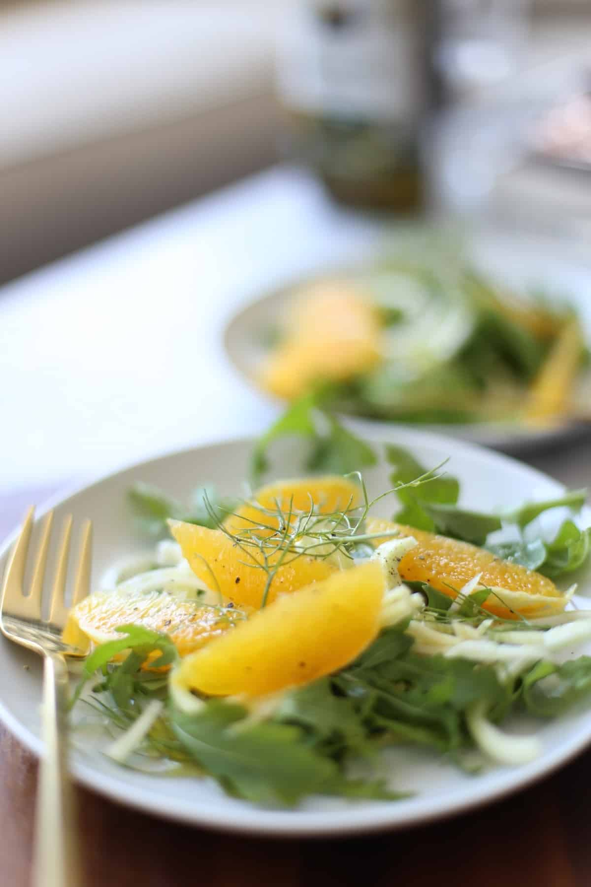 Fennel and orange salad recipe for summer
