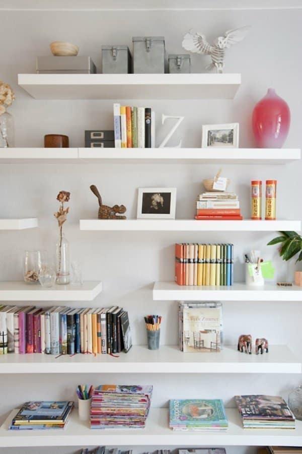 Floating Bookshelves Ideas For Your Home
