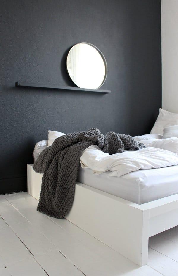 minimalist bedroom ideas, grey and white bedroom ideas