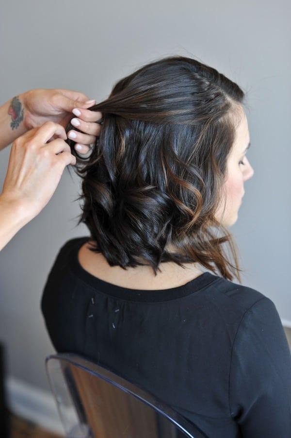 Marvelous Half Updo For Short Hair Short Hairstyles For Black Women Fulllsitofus