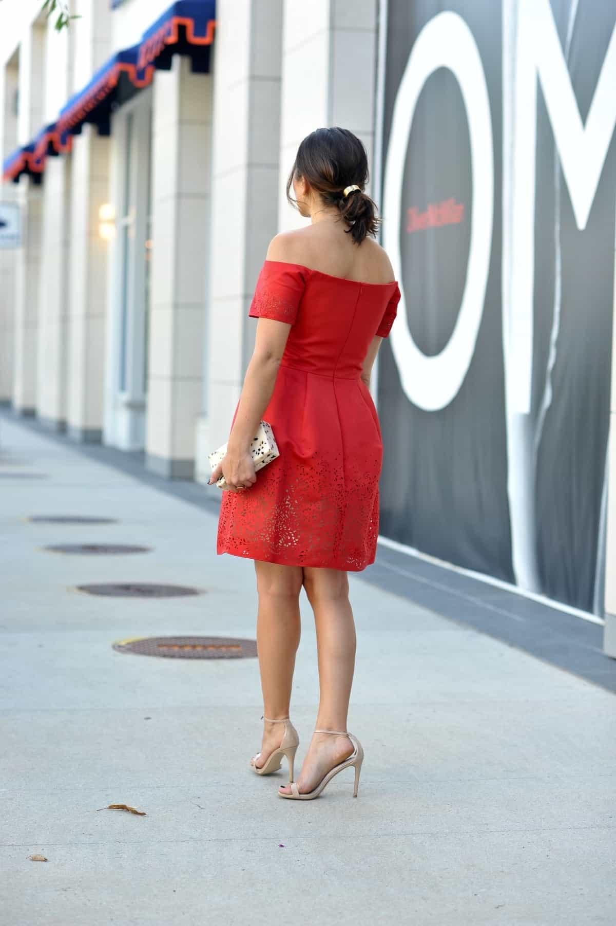 Marchesa Notte Red Dress via @mystylevita - 1 (11)