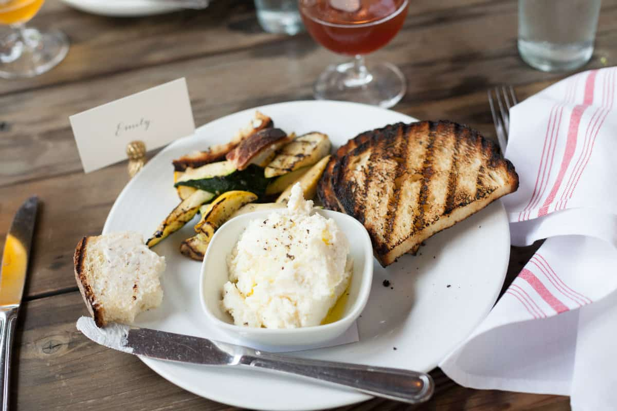edmunds oast ricotta cheese, places to eat in Charleston South Carolina