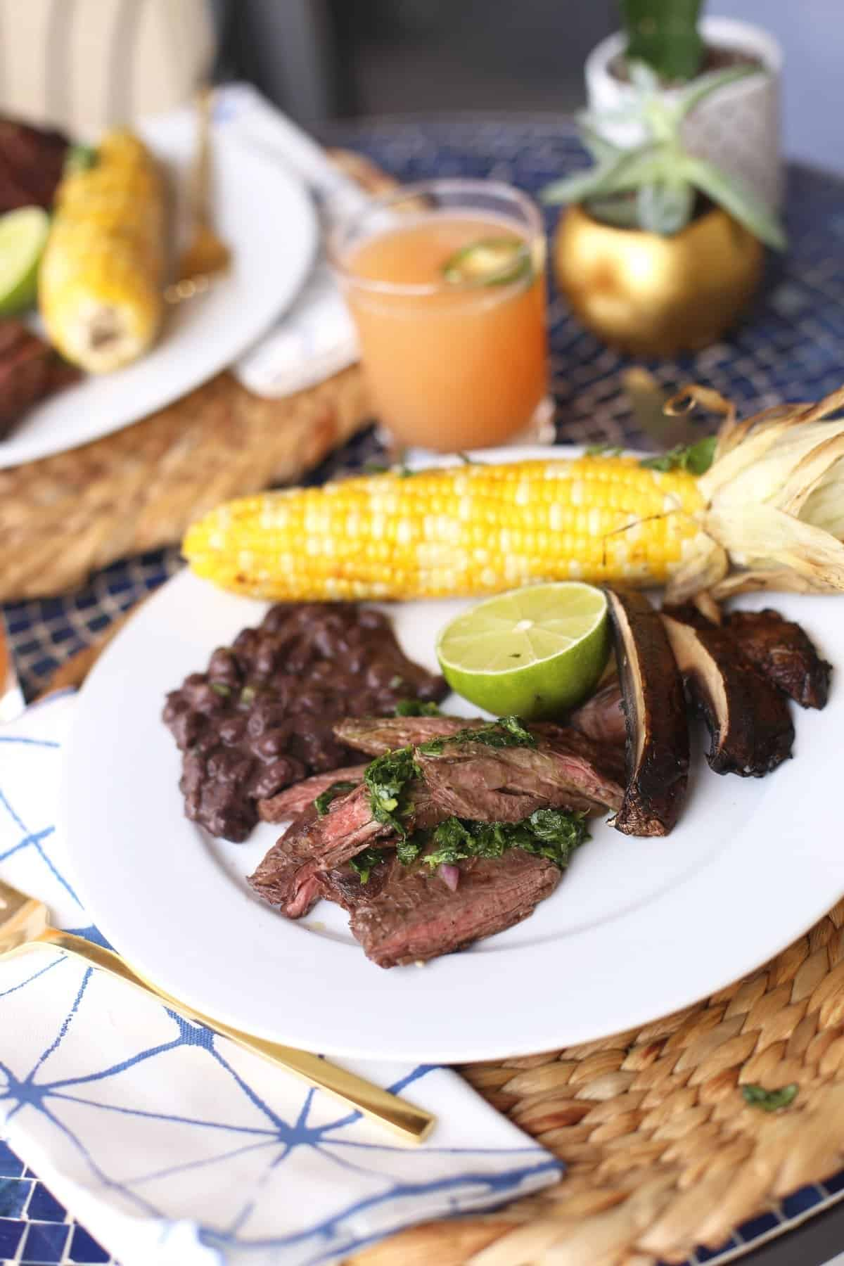 Mexican Dinner Party Ideas Part - 30: Mexican Bbq Fiesta Recipe And Ideas Via @mystylevita - 1 (1)