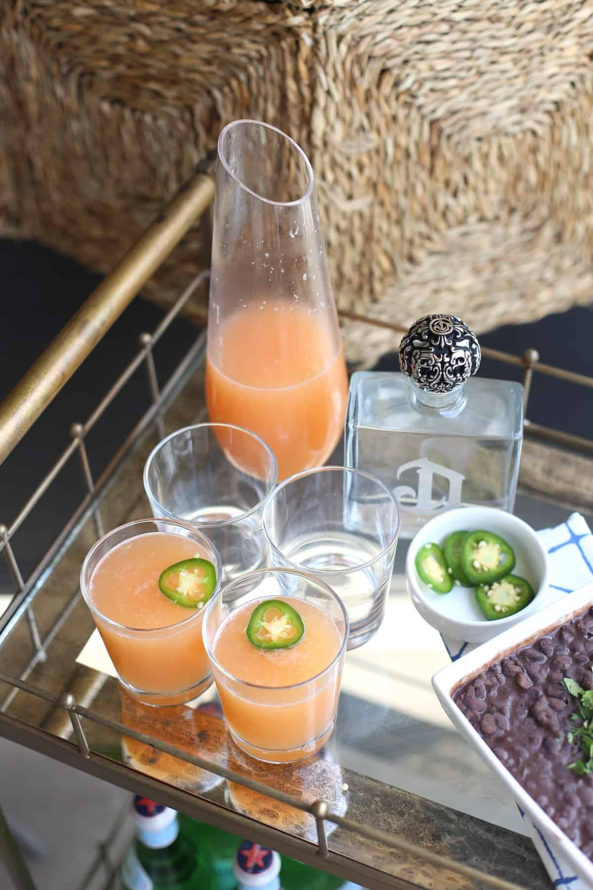 spicy paloma recipe via @mystylevita - 1