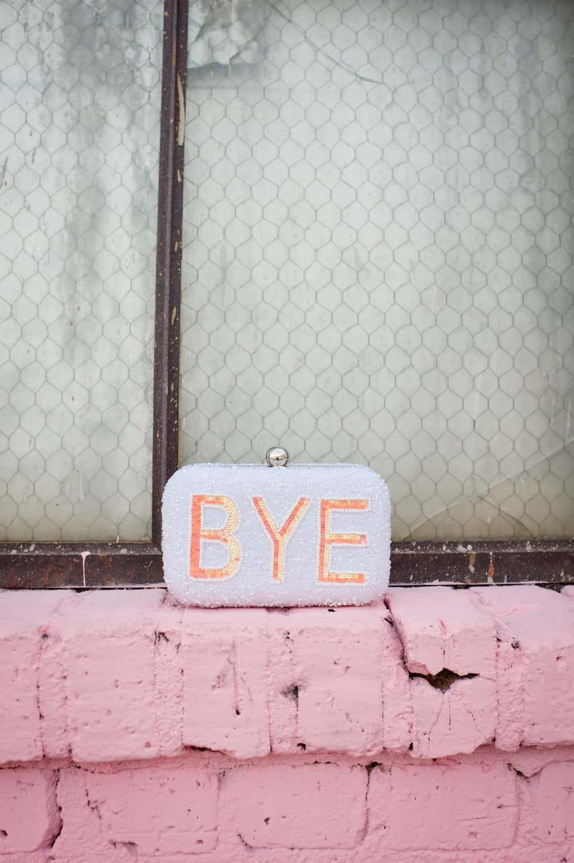 Asos sequined Hi Bye clutch via @mystylevita [My Style Vita] - 9