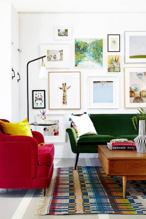 Green couch ideas for the home
