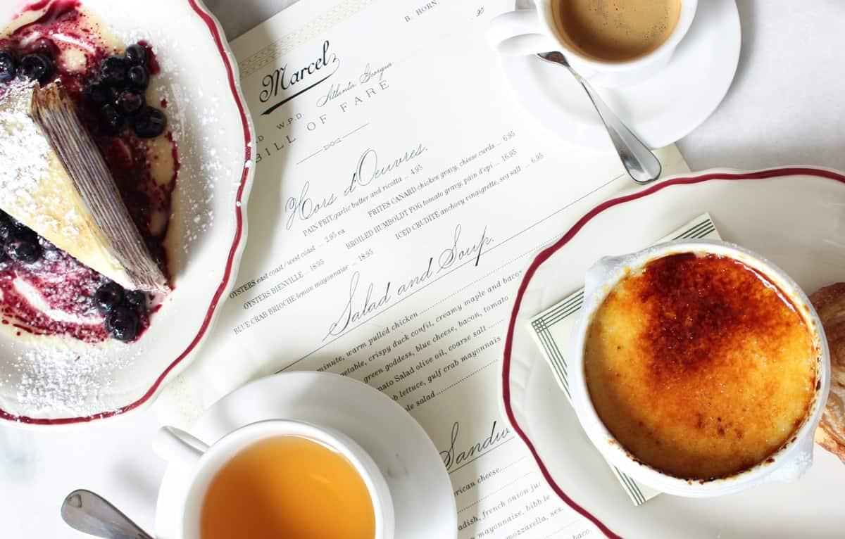 Marcel's Atlanta Restaurant Desserts