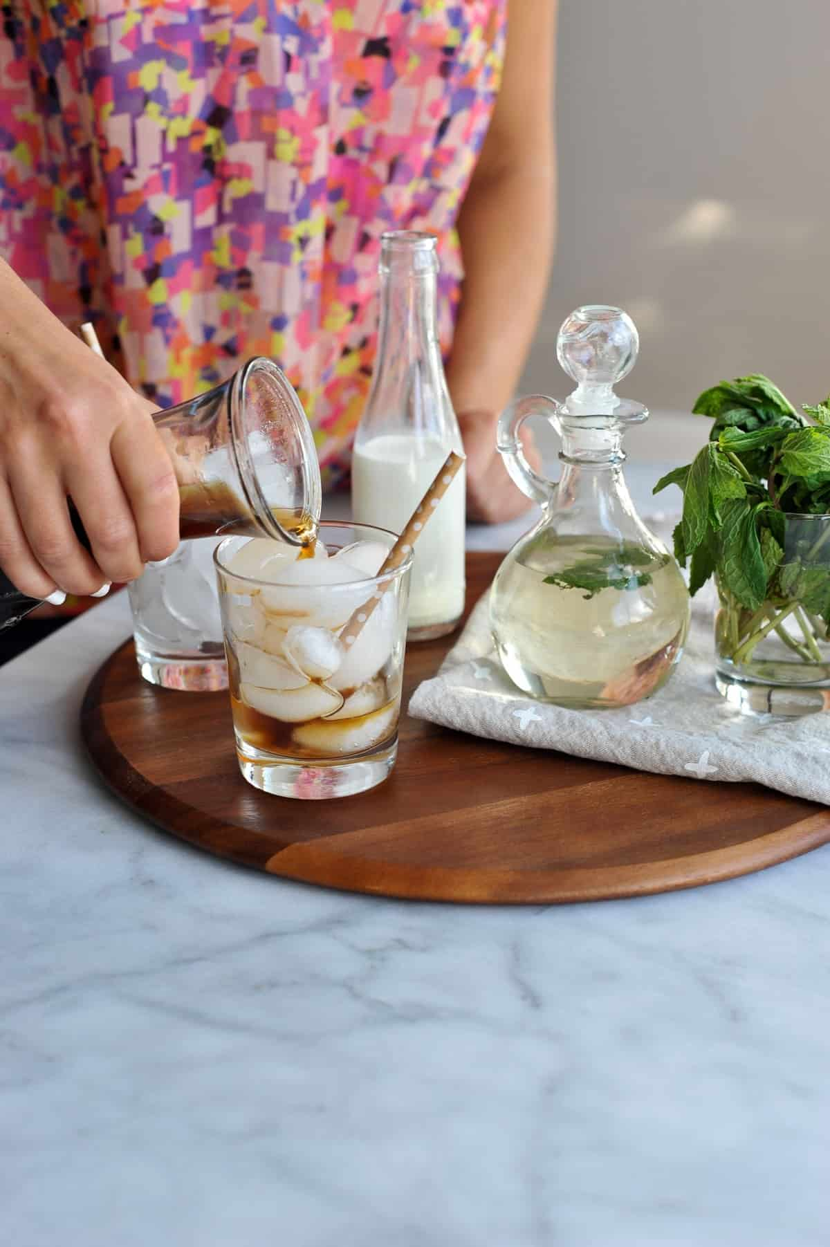 homemade mint iced coffee via @mystylevita [My Style Vita]