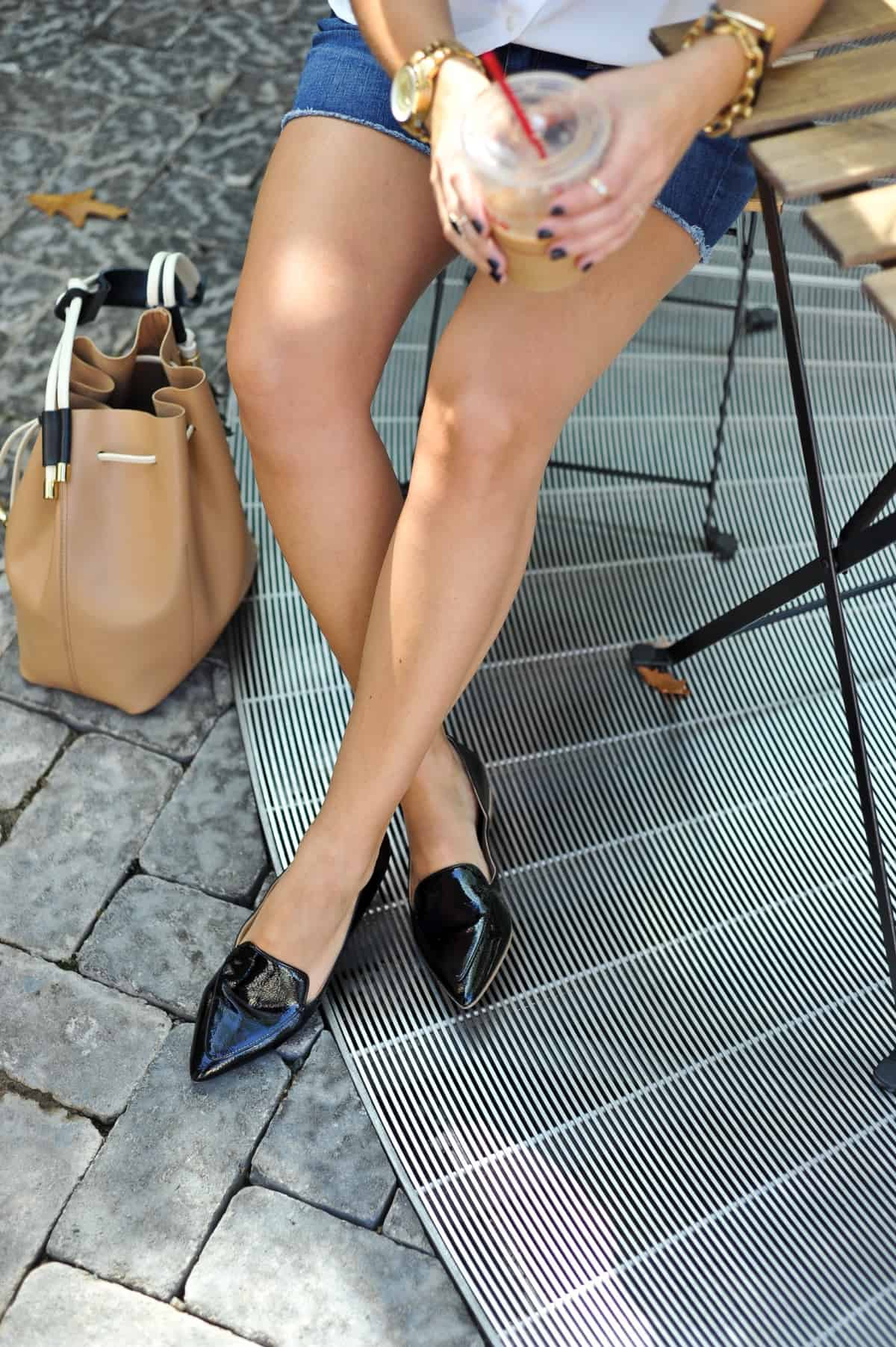 sole society cammila loafer and white button down via @mystylevita [My Style Vita] - 1