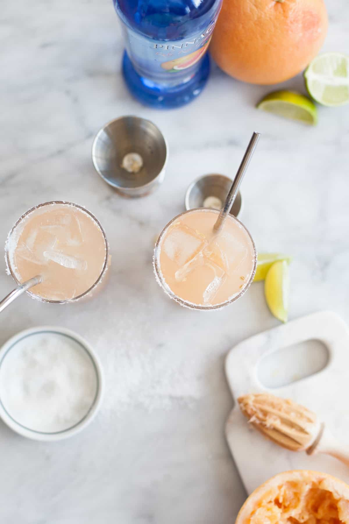 salty dog cocktail recipe pinnacle vodka via @mystylevita [My Style ...