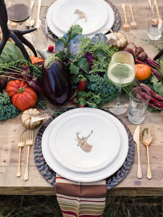 Image result for domino fall tablescape