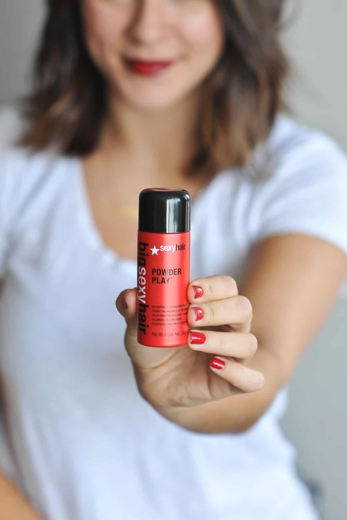 volumizing texture sprays and powders